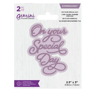Gemini Die - Expressions - On Your Special Day