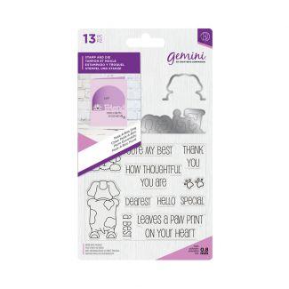 Gemini - Stamp & Die - Peek-A-Boo Dog