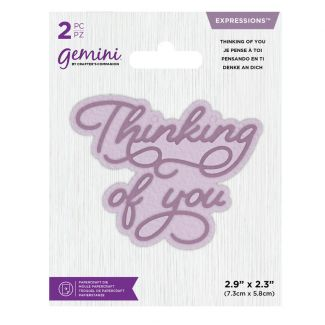 Gemini Die - Expressions - Thinking of You