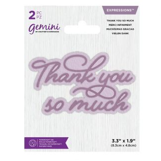 Gemini Die - Expressions - Thank You So Much