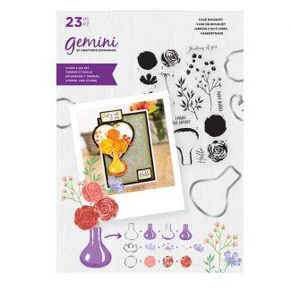 Gemini - Stamp & Die - Vase Bouquet