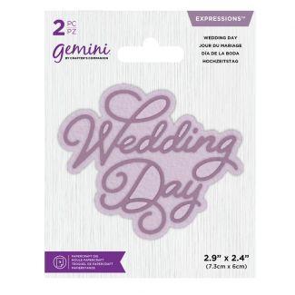 Gemini Die - Expressions - Wedding Day