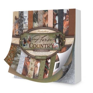 "Horse & Country 6"" x 6"" Paper Pad"