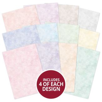 Hunkydory Essentials - Coloured Insert Paper