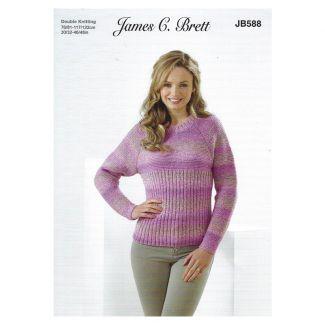 Leaflet - Ladies raglan sweater 2