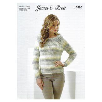 Leaflet - Ladies raglan sweater 1