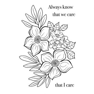 Woodware Clear Stamp - Blooming Lovely
