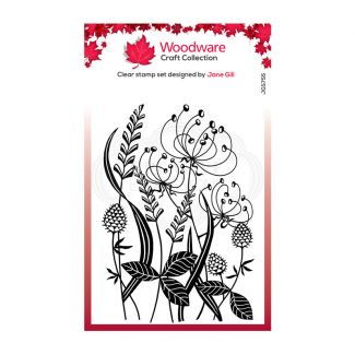 """Woodware Clear Stamp - Wild Meadow (6"""" x 4"""")"""