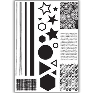 Create with Shapes Stamp Set