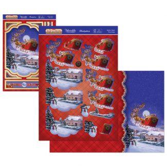 The Joy of Christmas Deco-Large - Santa's Here
