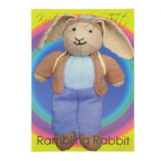 Knitting by Post pattern - Rambling Rabbit