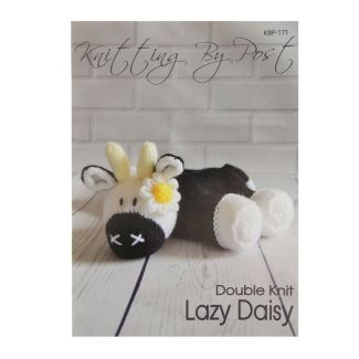 Knitting by Post pattern - Lazy Daisy