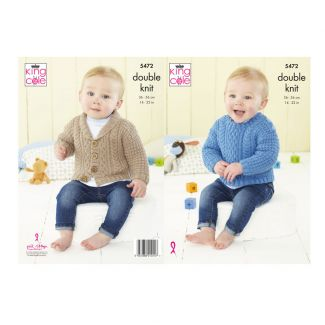 """Pattern - Jacket or Sweater - 14"""" to 22"""" : 2-4 balls"""