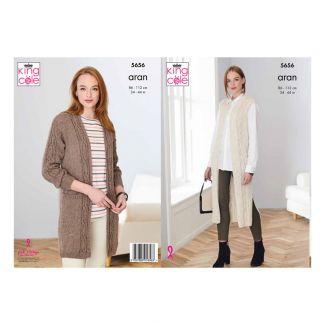 Pattern - Waistcoat & Jacket - Knit