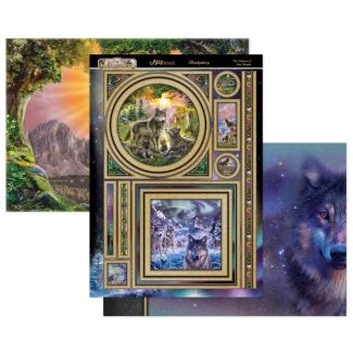 The Wolves of the Woods Mirri Magic Topper Set