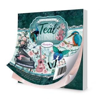 The Square Little Book of Teal Treasures