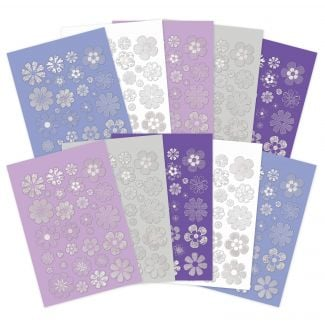 Lilac Dreams Pretty Petals Die-Cuts