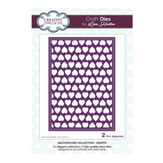 Background Collection Hearts Craft Die