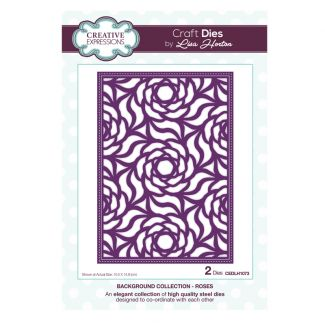 Background Collection Roses Craft Die