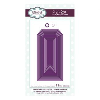 Essentials Collection Tags & Banners Craft Die