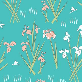 Lily Pad by Debbie Shore - Lily Teal
