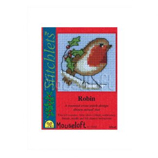 Stitchlets for Christmas - Robin