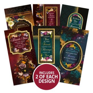 Midnight Botanica DL Topper Panels