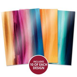 Mirri card Specials - Vibrant Brushstrokes Collection