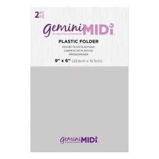 Gemini Midi Accessories - Plastic Folder - 2 pack