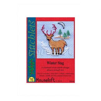 Stitchlets for Christmas - Winter Stag