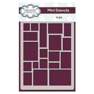 Creative Expressions Mini Stencil Tiles