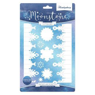 Moonstone Dies - Snowflake Rosettes