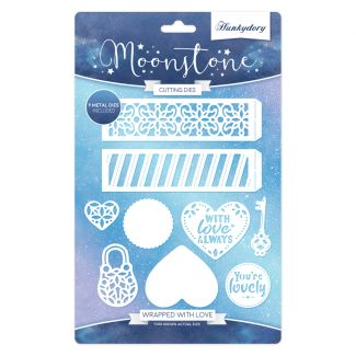 Wrapped with Love - Moonstone Die Set
