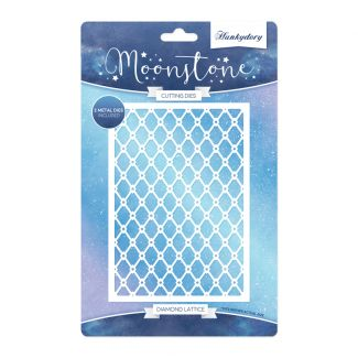 Moonstone Background Dies - Diamond Lattice