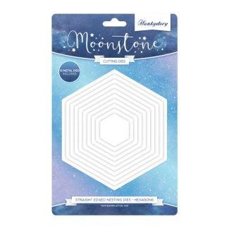 Moonstone Nesting Dies - Hexagons