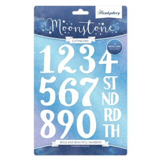 Moonstone Die Set - Bold & Beautiful Numbers