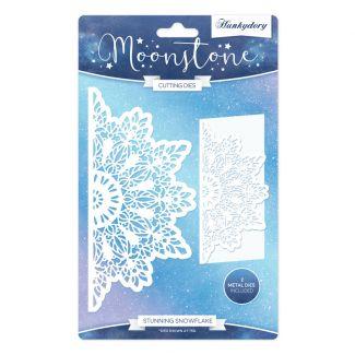 Stunning Snowflake Moonstone Die Set
