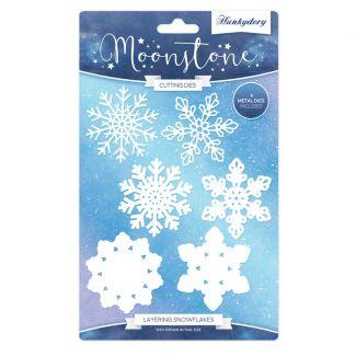 Layering Snowflakes Moonstone Die Set