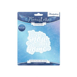 Snow Place Like Home Moonstone Die Set