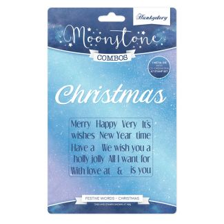 Moonstone Combos - Festive Words - Christmas