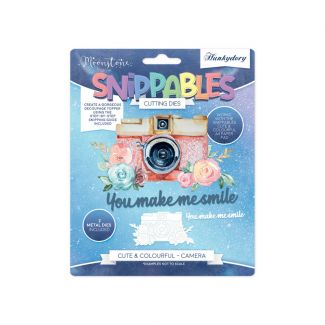 Moonstone Dies - Snippables Cute & Colourful - Camera