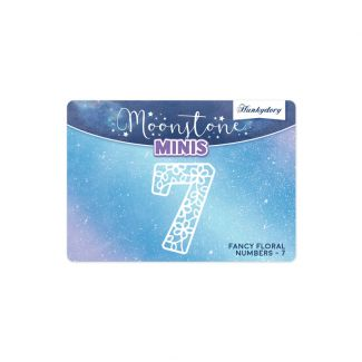 Moonstone Minis - Fancy Floral - Numbers - 7