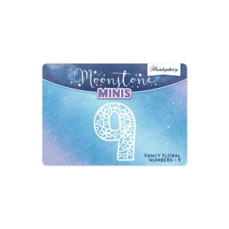 Moonstone Minis - Fancy Floral - Numbers - 9