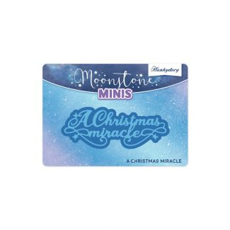 Moonstone Minis - Christmas Sentiments - A Christmas Miracle