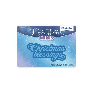 Moonstone Minis - Christmas Sentiments - Christmas Blessings
