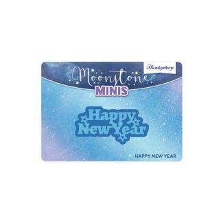 Moonstone Minis - Christmas Sentiments - Happy New Year