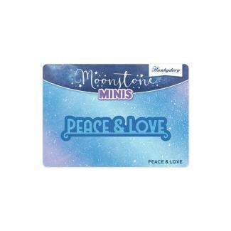 Moonstone Minis - Christmas Sentiments - Peace & Love