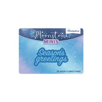Moonstone Minis - Christmas Sentiments - Season's Greetings
