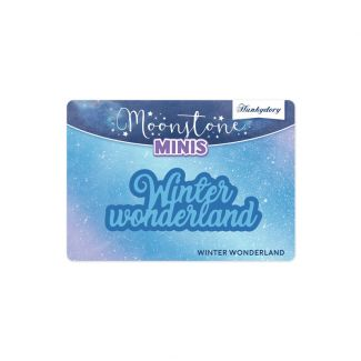 Moonstone Minis - Christmas Sentiments - Winter Wonderland