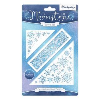 Moonstone Dies - Falling Snowflake Panels